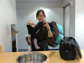Babywearing to the other side of the world and back