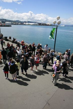 Babywearing Wellington's 6th Annual Slingwalk: Sunday 4 October 2015